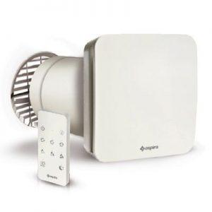 Aspira ecocomfort 160 rf ventilatie cu recuperare de caldura ceramica