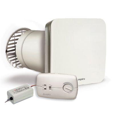 aspira ecocomfort 160 ventilatie cu recuperare de caldura