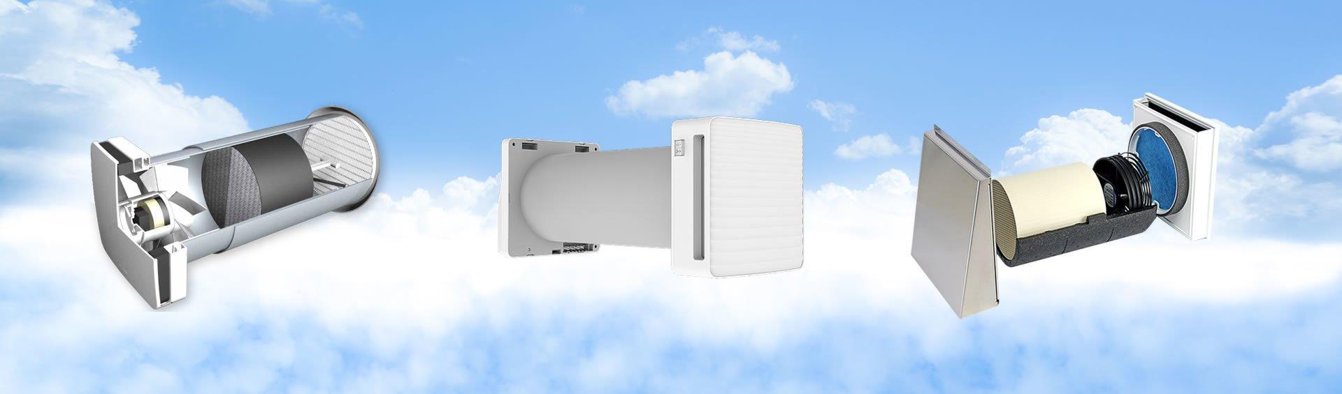 Ventilatie cu recuperare caldura si ventilatie ventilatoare baie