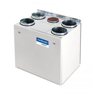 Sisteme ventilatie centralizate cu recuperator de caldura