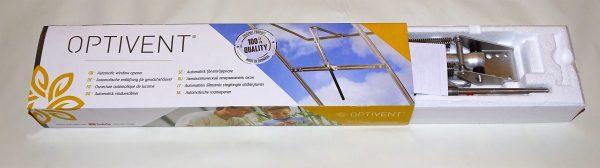 Optivent deschidere fereastra sera, automatizare aerisire solar aluminiu