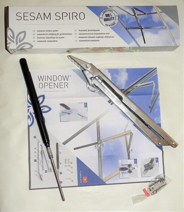 Sesam Spiro actuator deschidere fereastra sere gradina automata