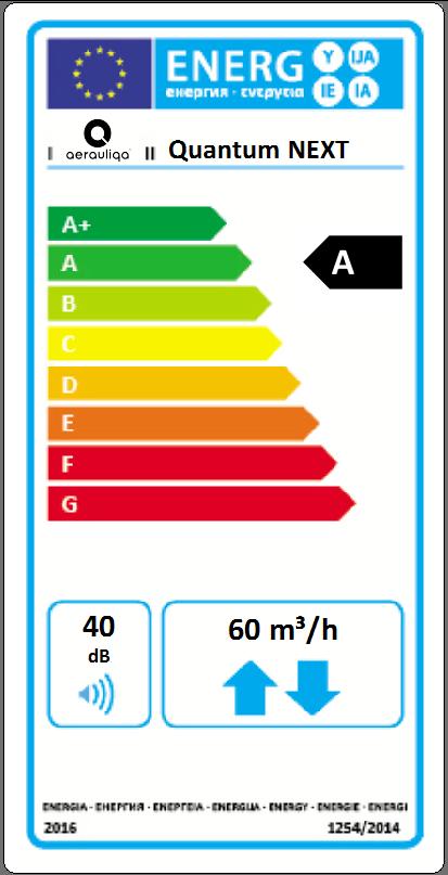Aerauliqa Quantum Next Ventilator Aerisire recuperator de caldura