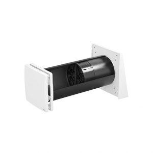 ventilatie cu recuperare de caldura inVENTer iV Twin plus doua ventilatoare complet