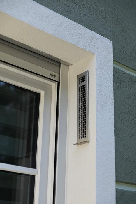 Sevi160U Unitate  de ventilatie cu recuperare de caldura integrata in fatada