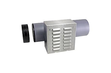 Kit evacuare pentru pereti subtiri Sevi160L ventilatie cu recuperare de caldura