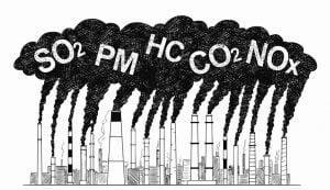 poluantii aer industrial