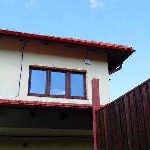 Montare ventilator aerisire recuperator de caldura exterior