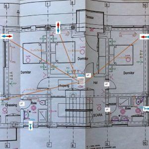Planificare adecvata ventilatie plan etaj