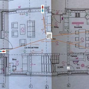 Planificare adecvata ventilatie plan Parter