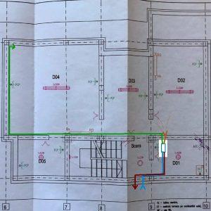 Planificare adecvata ventilatie plan Subsol