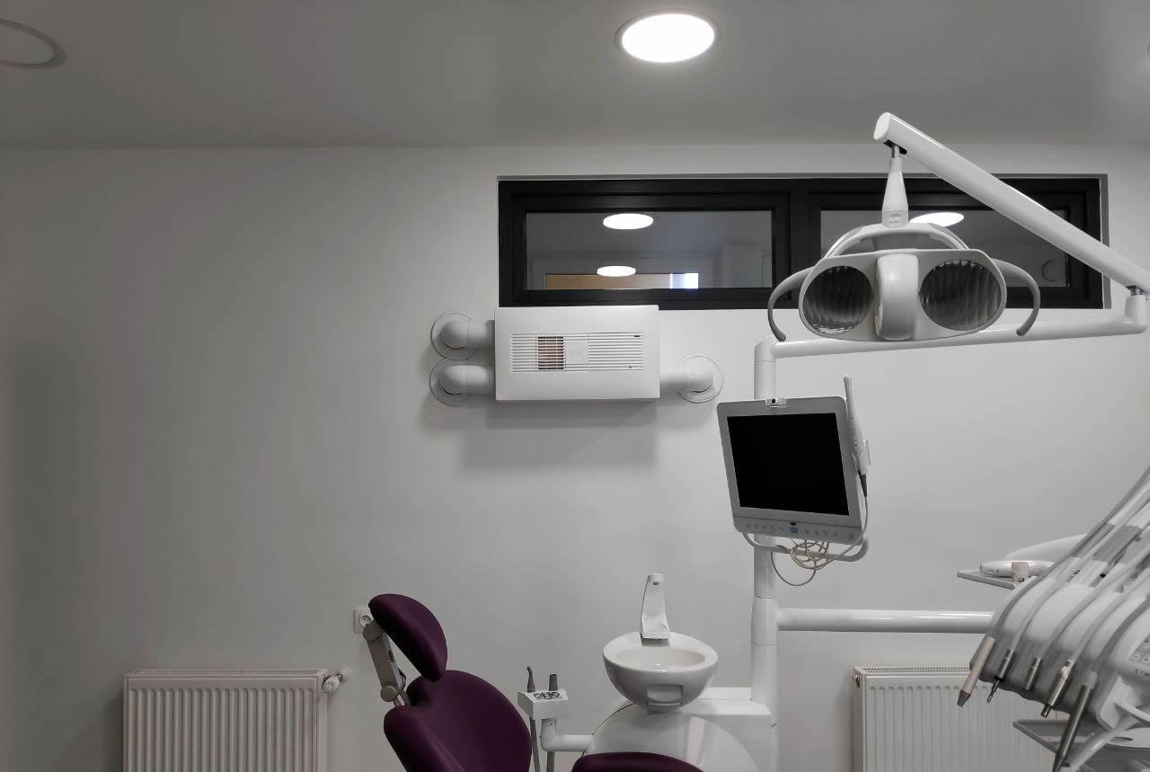 ventilatie la cabinet stomatologic preventie covid-19