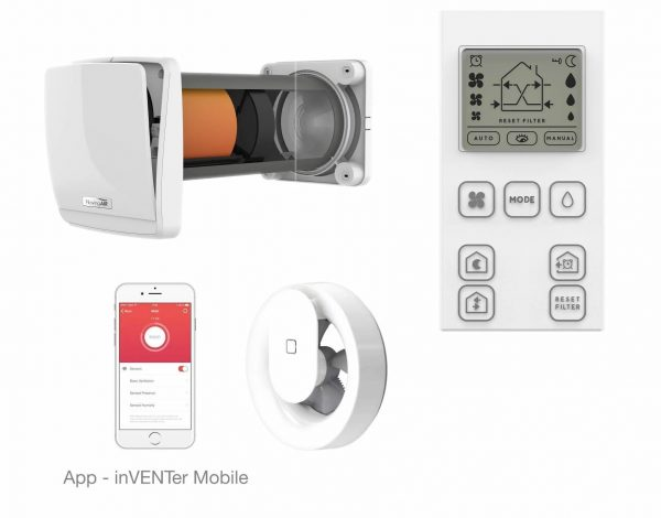 Sistem ventilatie NovingAIR Phantom Wireless 150