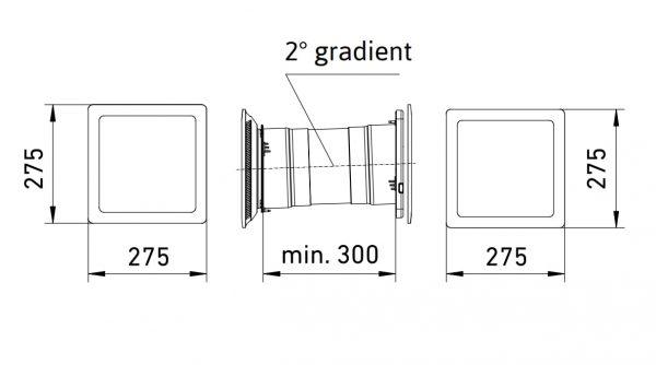 Leaf 1 Unitate de ventilatie descentralizata Wireless