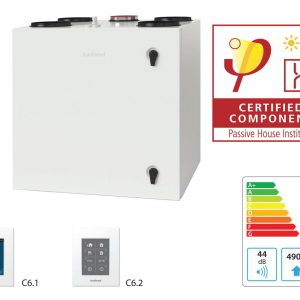 certificat casa pasiva Komfovent Domekt R 450