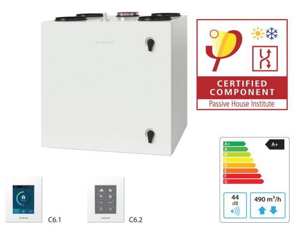 Komfovent Domekt R 450 V Centrala certificat casa pasiva
