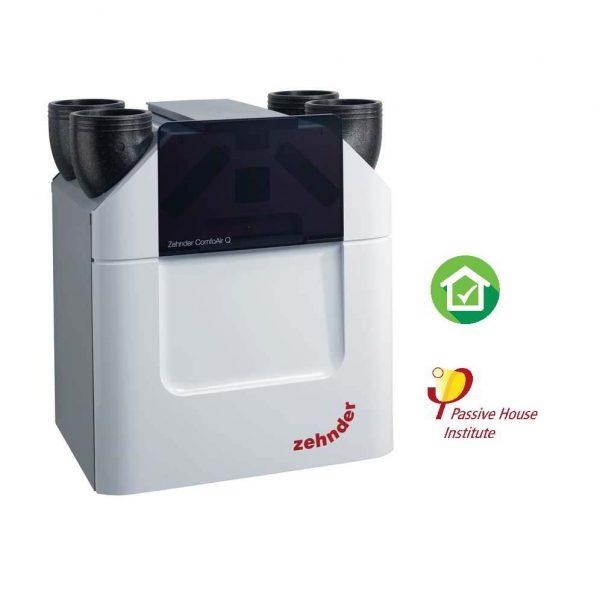 Zehnder ComfoAir Q450 ERV Recuperator caldura Entalpie