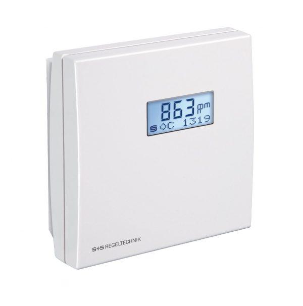 Senzor VOC co2 cu afisaj, , temperatura si umiditate