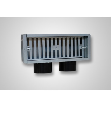Plenum perete 2 x 75 300×100 lateral