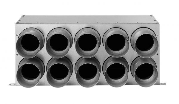 Distribuitor Komfovent inline D160 75×10, izolat