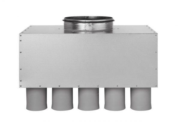 Distribuitor Ventilatie Komfovent inline D200 75×15, izolat